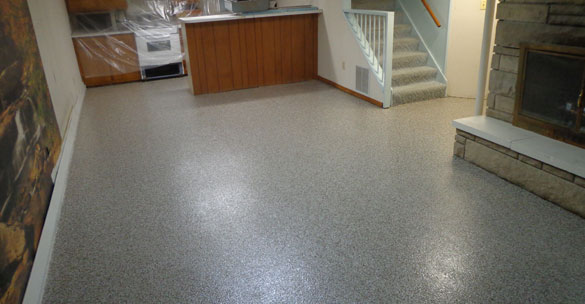 Basement Floor Epoxy Coating