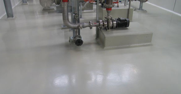 industrial Epoxy Flooring Dayton Ohio