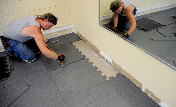 Rubberized Floor Coating Dayton